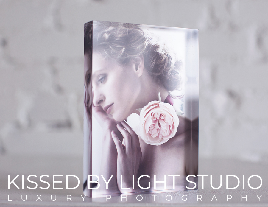 gorgeous table-top thick acrylic block comes printed with your favourite image